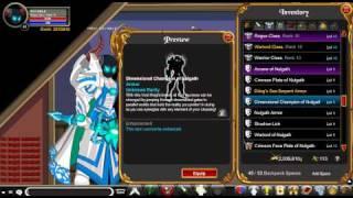 AQW All juggernaut items of nulgath