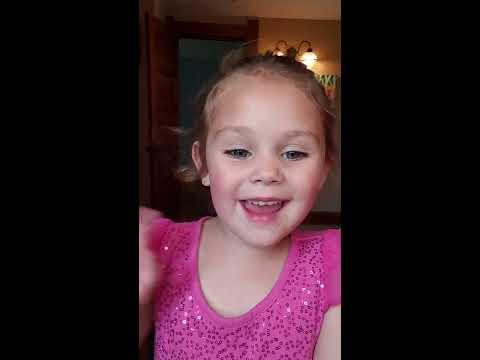 Toddler makeup tutorial💗 thumbnail