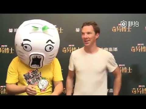 Benedict Cumberbatch interview in Shanghai