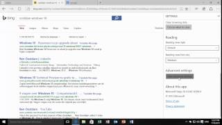 Windows 10 - Change default search engine from Bing to Google.