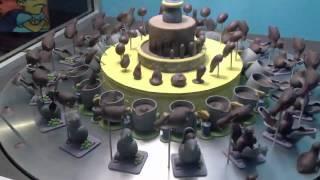 Spinning Chocolate Cake