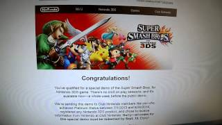 Kintips Channel FREE Giveaway Nintendo Super Smash Bros 3DS DEMO CODES Subscribe Comment LIKE