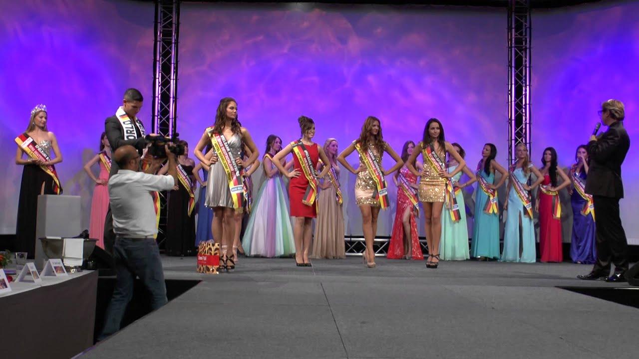 Miss Deutschland 2014 | Entscheidung um Platz 2+3 | Spielbank Hohensyburg