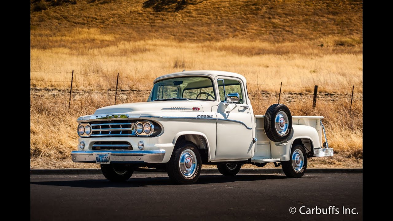 1959 Dodge D100 Used Cars - Concord,CA - 2015-12-02 - YouTube