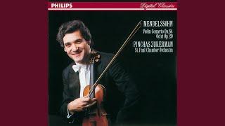 Mendelssohn: Violin Concerto in E minor, Op.64 - 1. Allegro molto appassionato - 2. Andante