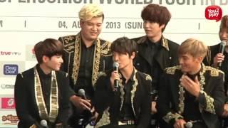 SUPER JUNIOR WORLD TOUR 'SUPER SHOW 5' IN BANGKOK - Press Conference