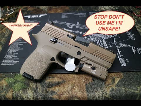 why people are hating the sig sauer p320 and my thoughts