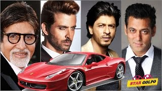 Famous Bollywood Stars Luxury Cars