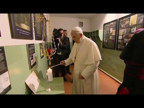 Papa pede na Lituânia para que lições do passado não sejam esquecidas