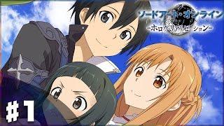 【SAO HR】リンクスタート!『ソードアート・オンライン -ホロウ・リアリゼーション-』実況プレイ#1(Sword Art Online: Hollow Realization) thumbnail