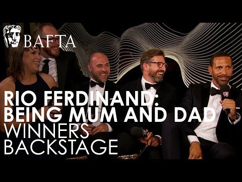 Rio Ferdinand Talks About Becoming a BAFTA Winner for Single Documentary | BAFTA TV Awards 2018