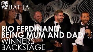 Rio Ferdinand talks about becoming a BAFTA winner for Single Documentary   BAFTA TV Awards 2018