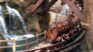 Seven Dwarfs Mine Train Update - Wall Down, Car on Track, Waterfall - February 2014, Opens Spring