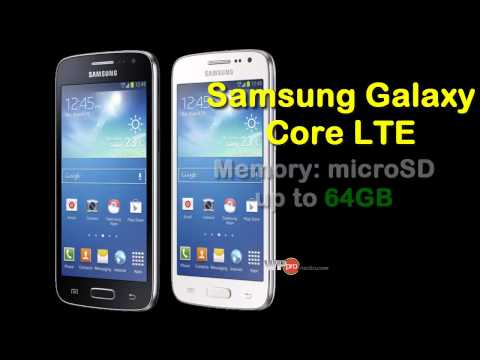 Samsung Galaxy Core LTE: Specs, Pics 2014