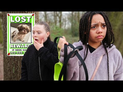 TIANA'S PUPPY RAN AWAY IN A FOREST!!