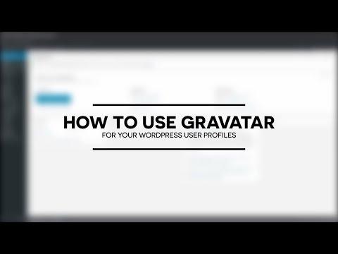 How to use Gravatar for user avatars in WordPress