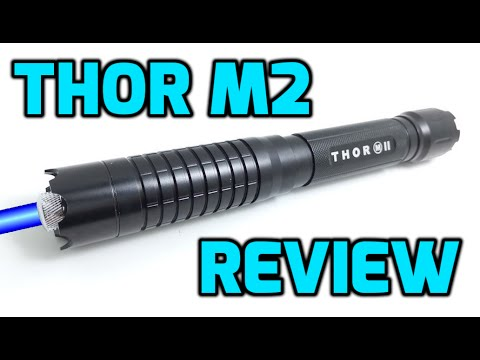 Thor M2 1W 445nm / 450nm Blue Burning Laser Pointer Review