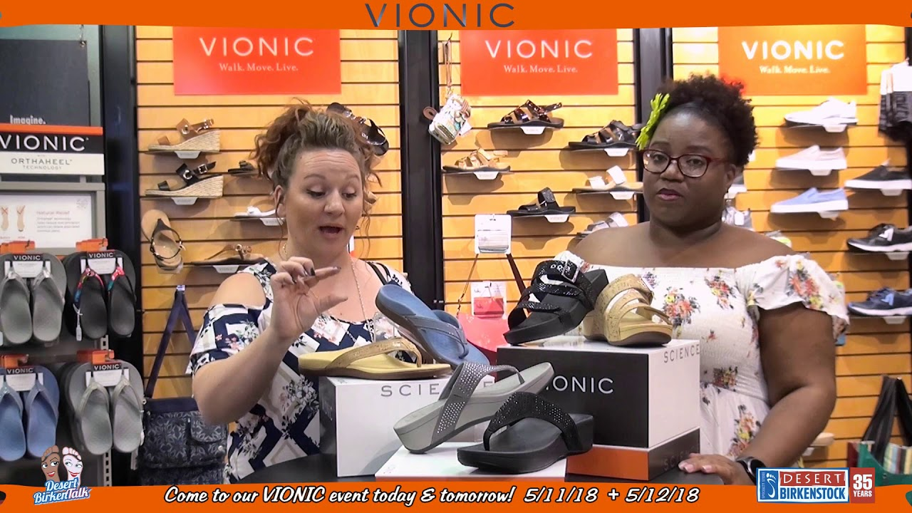 Vionic Sandals with the Pacific Footbed