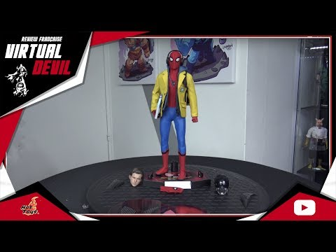HOT TOYS - SPIDERMAN - MMS 426 - SPIDERMAN HOMECOMING - REVIEW FRANCAISE
