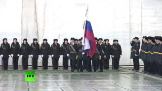 В Североморске наградили моряков и лётчиков, вернувшихся из Сирии