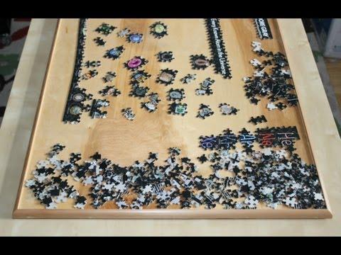 Wooden Jigsaw Puzzle Board