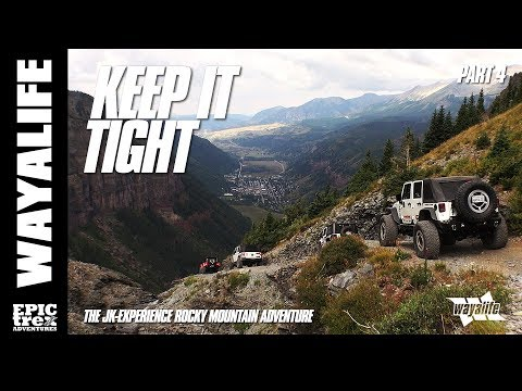 KEEP IT TIGHT : JK-Experience Colorado - Black Bear Pass & Billings Canyon | Part 4