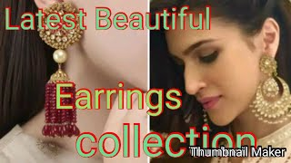 Latest beautiful earrings collection