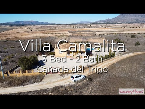 Villa Camalita Aerial View - Murcia - 219,950€