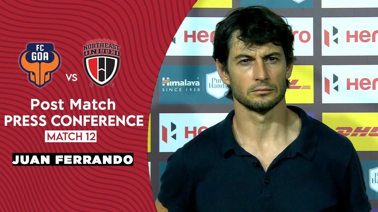 Download ISL 2020-21 Press Conference : Juan Ferrando   FC Goa Vs NorthEast United