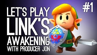 Link's Awakening Switch Gameplay: Link's Awakening with Producer Jon - YOSHI TOY CLAW GRAB