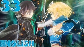Sword Art Online: Hollow Fragment - Walkthrough Gameplay Part 33 - English PS Vita No Commentary