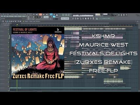 KSHMR & Maurice West - Festival Of Lights | Free FLP | FL Studio Remake