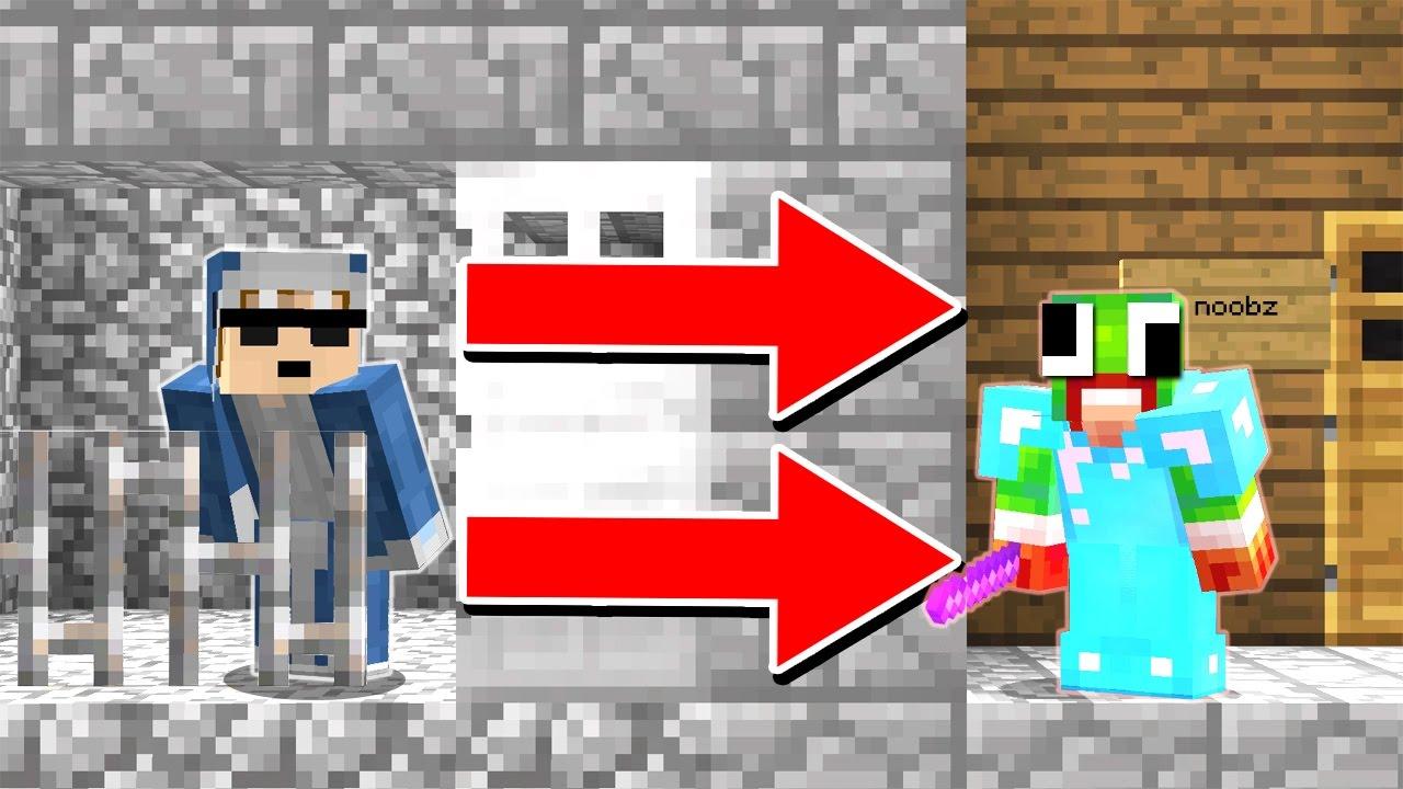 THE ULTIMATE PRISON ESCAPE (Minecraft)