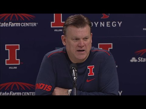 Brad Underwood Press Conference 1/10/17