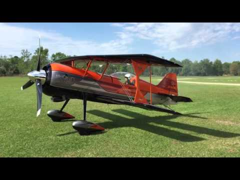 Pitts Model 12S PROTON - Engine Start