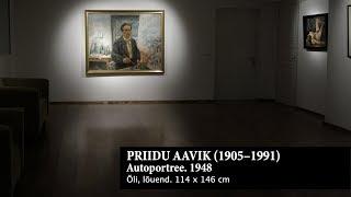 Priidu Aavik. Autoportree. 1948