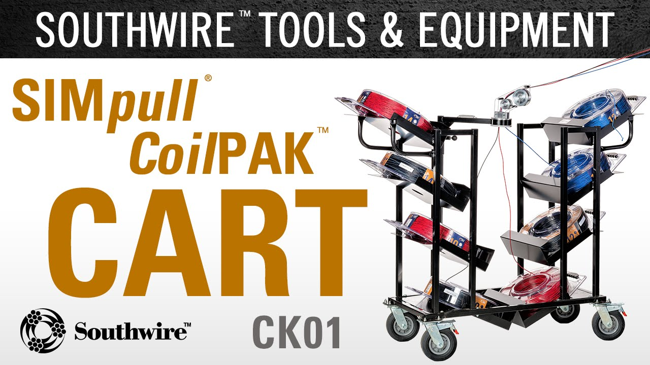 Southwire\'s SIMpull® CoilPAK™ Cart - YouTube
