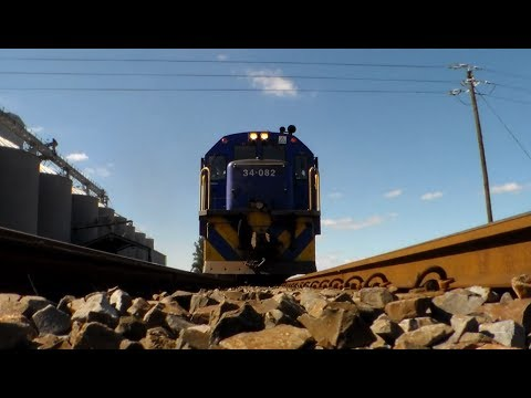 South African diesel locomotives in the Swartland - Part Four