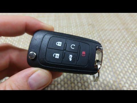How to change Keyless entry key fob remote battery Chev... | Doovi