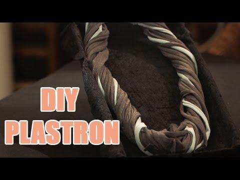 Créez vous même un plastron avec deux t-shirts - DIY textile