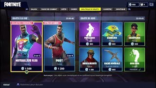 "FORTNITE July 10Th Skins Shop ""FLUO MACHINE"" - ""PIVOT""!"