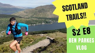 TRAIL RUNNING in SCOTLAND - Training for a Mountain Ultra S2 E8