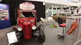 Vintage Bel Air au Salon Auto Moto Retro de Dijon