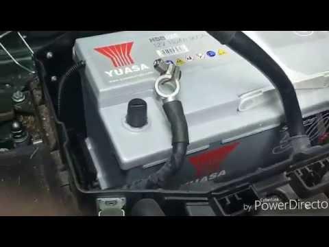 Battery replacement audi Q7 Porsche cayenne VW touareg