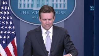 11/29/16: White House Press Briefing