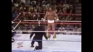 ic title ultimate warrior vs super ninja snme nov 26th 1988