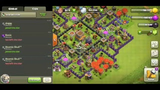 5V5 WAR CLASH OF CLANS AND LAST DAY ON EARTH