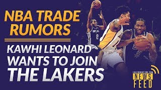 Nba Trade Rumors: Kawhi Leonard Wants To Join Lakers