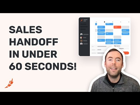 Handoff From SDR to AE In Under 60 Seconds with Chili Piper!