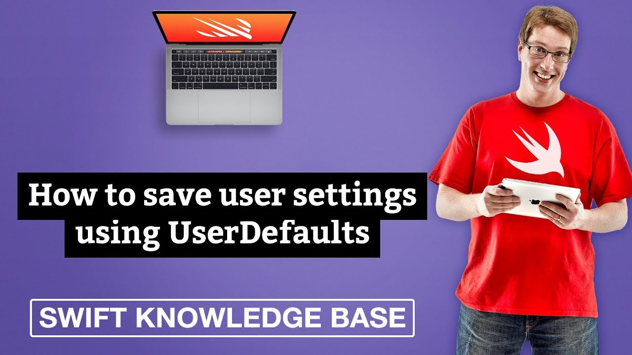 How to save user settings using UserDefaults - free Swift